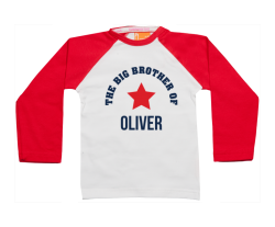 Camiseta Raglan: Hermano mayor