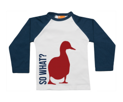 Camiseta Raglan: So What?