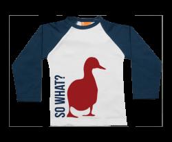 Camiseta Raglan: So What?
