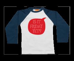 Camiseta Raglan: Ya es viernes?