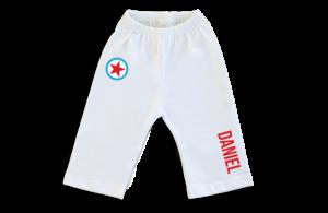 Pantalon Bebe: Estrella y Nombre