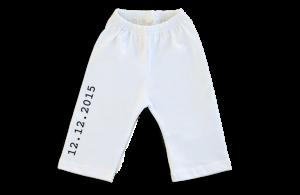 Pantalon Bebe: Fecha de nacimiento