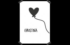 Poster: Globo de corazón