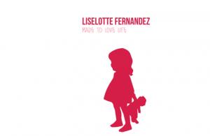 Adhesivo Pared/Puerta Alto: Chica con muñeca