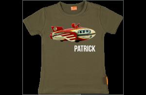 Camiseta Bebe: Avión antiguo