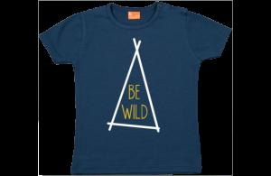 Camiseta Bebe: Be Wild (tienda)