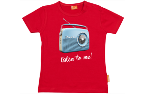 Camiseta Bebe: Radio Retro