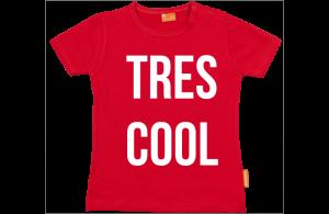 Camiseta Bebe: Tres cool