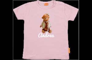 Camiseta Niña: Osito con gorrito