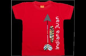 Camiseta niño manga corta: Indiana....