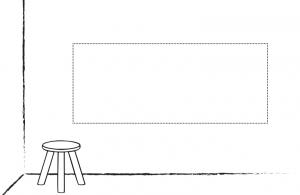 Adhesivo Pared/Puerta Ancho: Su propio diseño