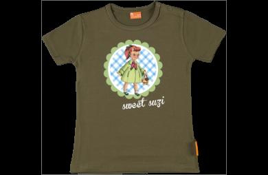 Camiseta Bebe: Chica Retro