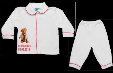 Pijama: Osito con gorro