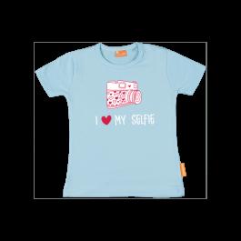 Meisjes t-shirt: I love my selfie
