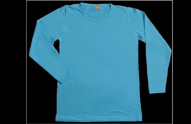 Dames t-shirt lange mouw: B