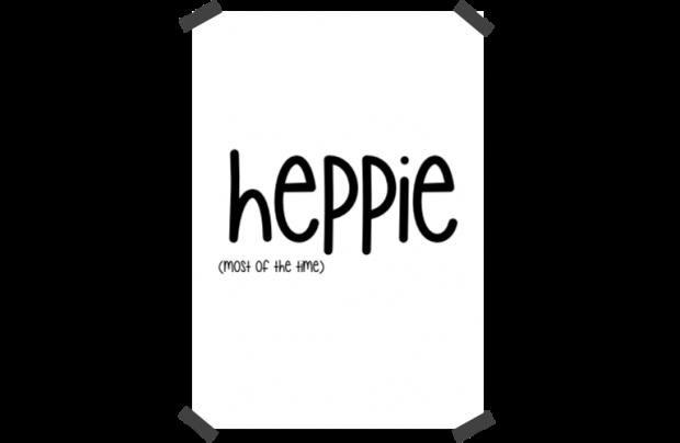 Poster: Heppie