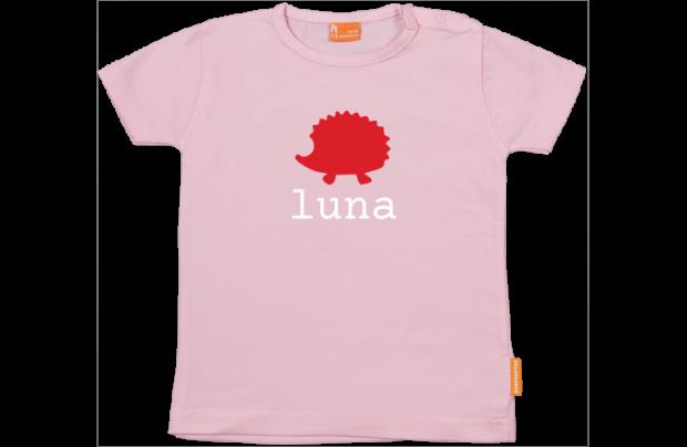Baby t-shirt: Egeltje