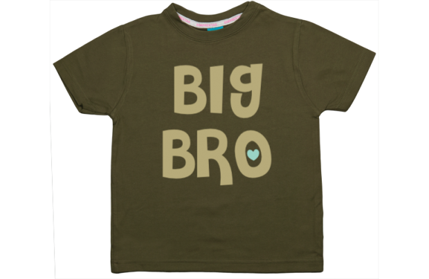 Jongens t-shirt: Big Bro