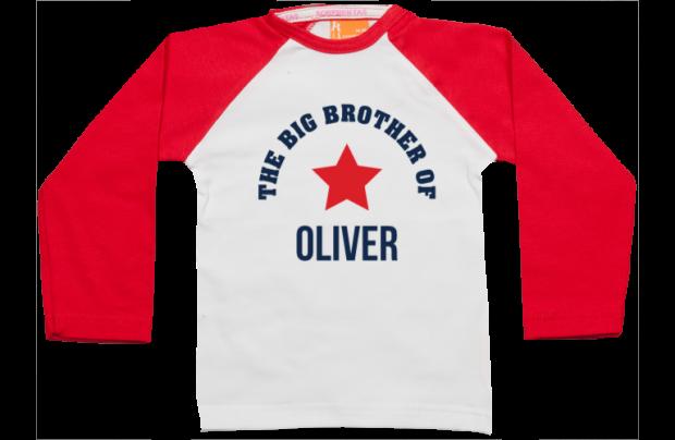 Raglan t-shirt: Big Brother