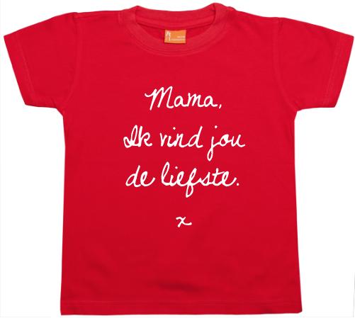PROMO: Shirt De Liefste Mama