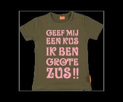 Meisjes t-shirt: Ik ben grote zus