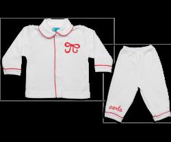 Pyjama: Strikje