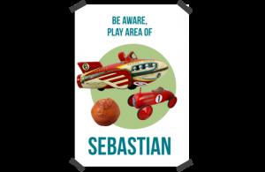 Poster: Antiek Vliegtuig