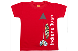 Jongens t-shirt: Indiana....
