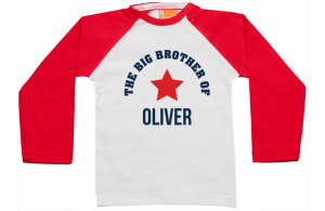 Raglan t-shirt: Big Brother