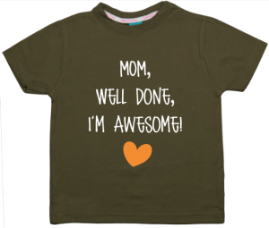 PROMO: Shirt Well Done Mom