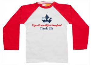 PROMO: Raglan Zijne Koninklijke Hoogheid