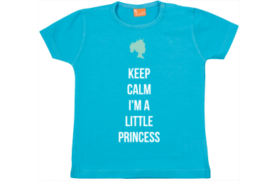 Baby t-shirt: Keep calm, I am a princess