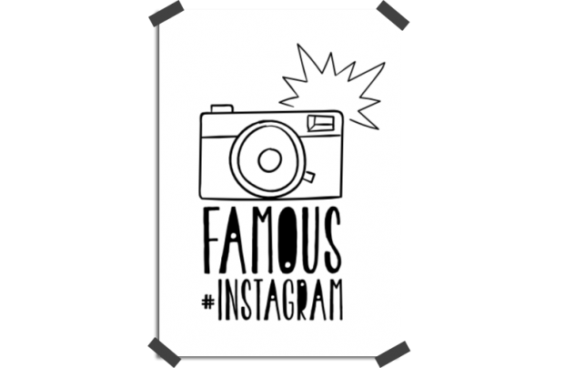 Poster: Famous on Instagram