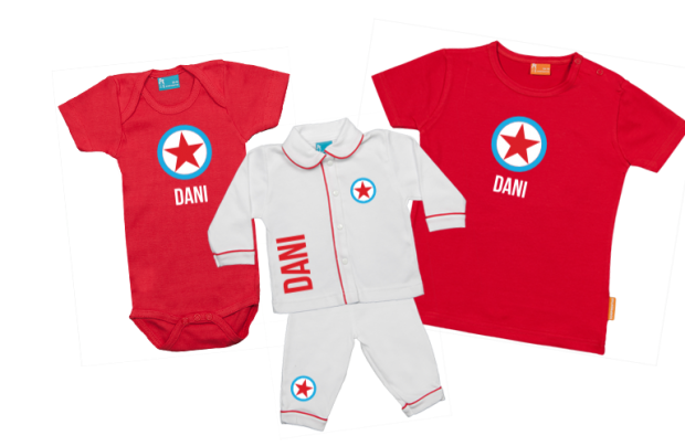 Babypaket B: Runde Stern