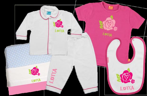 Babypaket C: Rose