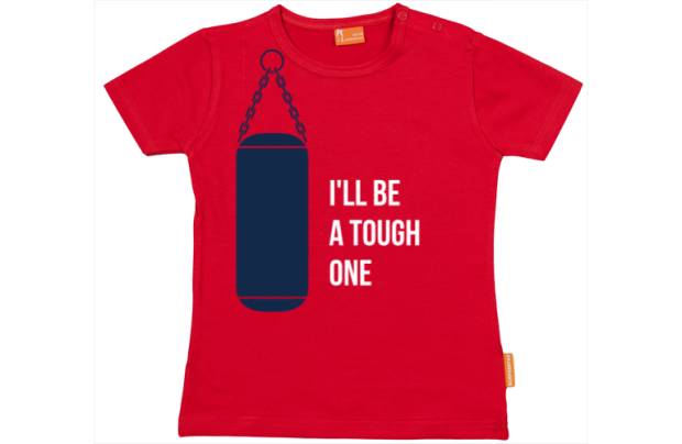 Baby t-shirt: I'll be a tough one