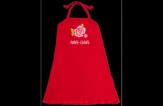Halter-Kleid: Rose