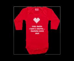 Body Langarm: Valentinstag Überraschung