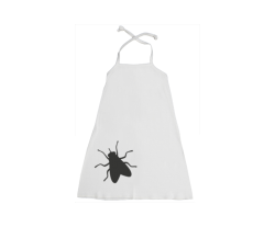Halter-Kleid: Fliege