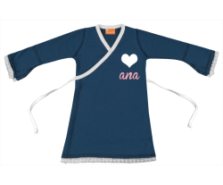 Wickelkleid: Herz