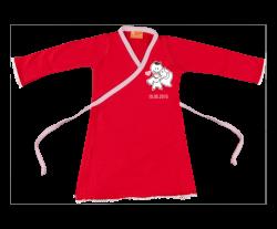 Wickelkleid: Hochzeitskleid