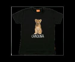 Mädchen T-Shirt: Baby Löwen