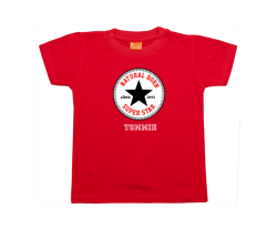 Jungen T-Shirt Kurzarm: Natural Born Superstar