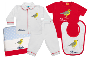 Babypaket C: Vögelchen