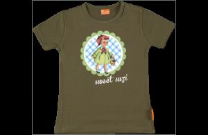 Baby t-shirt: Retro Mädchen