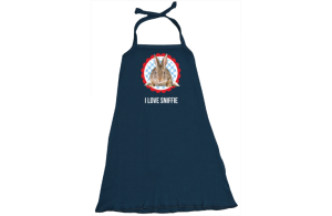 Halter-Kleid: I love rabbits