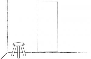 Wand/Türsticker Hoch: Selbst entwerfen!