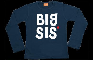 Mädchen T-Shirt Langarm: Big Sis