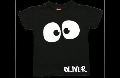 Jungen T-Shirt Kurzarm: Spooky Augen