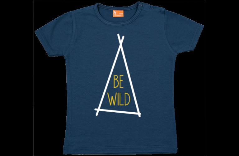 Baby t shirt Be Wild (tent)